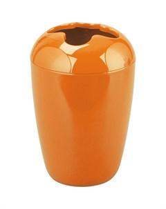 Стакан для зубных щеток 258214 оранжевый Без бренда