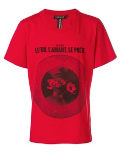 Icosae футболка с принтом Icosae