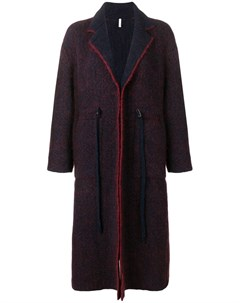 Boboutic однобортное пальто оверсайз Boboutic