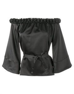 Jour ne блузка с открытыми плечами и оборками Jour/né