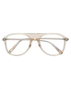 brioni очки авиаторы нейтральные цвета Brioni