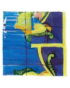 Fefe шарф с абстрактным принтом один размер разноцветный Fefè