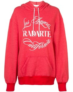 Rodarte худи с принтом логотипа Rodarte
