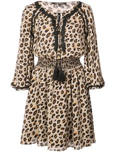 Kobi halperin платье с леопардовым узором нейтральные цвета Kobi halperin
