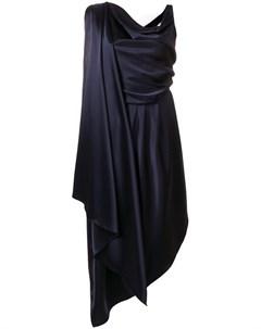 Osman платье с драпировками спереди Osman