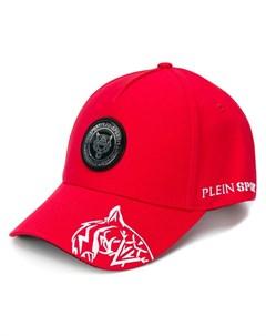 Plein sport бейсболка с нашивкой логотипом Plein sport