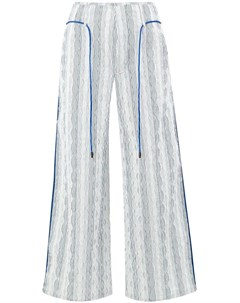 Quetsche укороченные брюки в полоску Quetsche