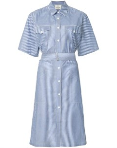 Mads norgaard платье рубашка в полоску Mads nørgaard