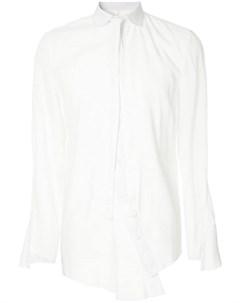 A new cross рубашка с завязкой на воротнике m белый A new cross