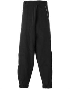 Moohong спортивные брюки свободного кроя 48 черный Moohong