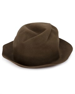 horisaki design handel шляпа с подвернутыми полями Horisaki design & handel