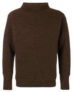 Andersen andersen свитер в рубчик m коричневый Andersen-andersen