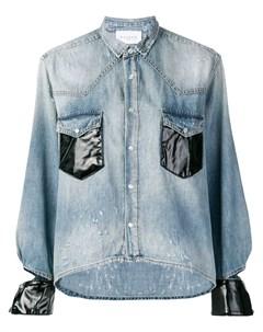Gaelle bonheur джинсовая куртка с контрастными манжетами Gaelle bonheur