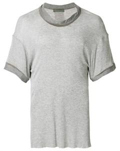 Di liborio футболка с отворотом на вырезе Di liborio