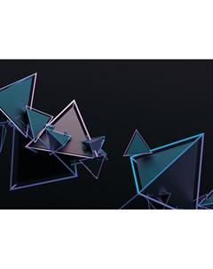 Фотообои 3D пирамиды 360х254см Decoretto