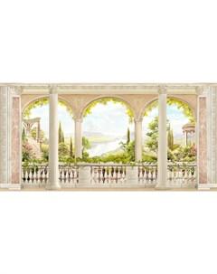 Фотообои Античная терраса 360х254см Decoretto