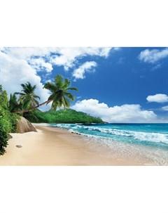 Фотообои Побережье острова Маэ Сейшельские острова 360х254см Decoretto