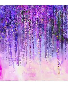 Фотообои Цветочный дождь 180х254см Decoretto