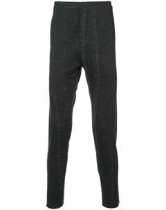 Label under construction брюки скинни с потертой отделкой 52 серый Label under construction