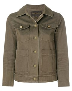 Louis vuitton vintage облегающая куртка рубашка Louis vuitton vintage