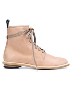Valas ботинки на шнуровке нейтральные цвета Valas