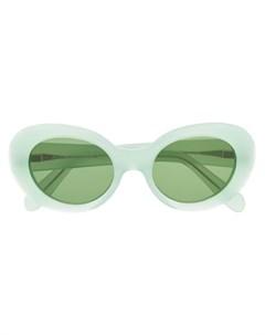 acne studios солнцезащитные очки в овальной оправе mustang Acne studios