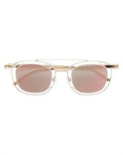 Thierry lasry солнцезащитные очки gendery в двойной круглой оправе один размер металлик Thierry lasry