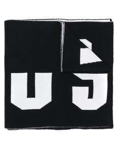 versus шарф с логотипом интарсия Versus