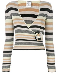 Chanel vintage свитер в полоску Chanel vintage