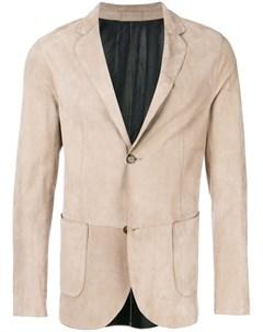 Desa collection пиджак с застежкой на две пуговицы нейтральные цвета Desa collection