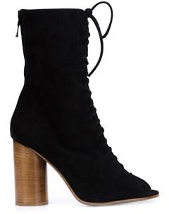 Valas короткие сапоги на шнуровке Valas