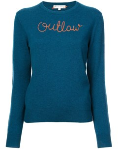 Lingua franca свитер с вышивкой outlaw Lingua franca