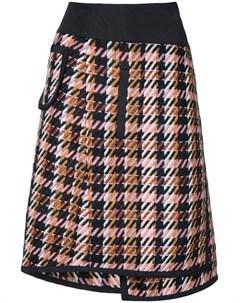 Public school многослойная юбка в клетку shula Public school