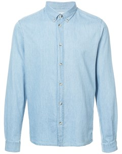 Cuisse de grenouille джинсовая рубашка узкого кроя xl синий Cuisse de grenouille