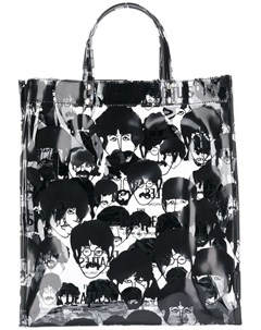 The beatles x comme des garcons сумка тоут с принтом the beatles The beatles x comme des garçons