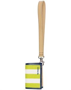 парусиновый кошелек с логотипом Sunnei