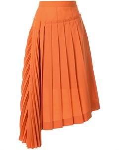 Irene плиссированная юбка асимметричного кроя Irene