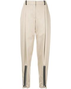 Irene брюки чинос в полоску 36 коричневый Irene