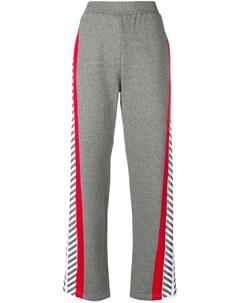 plein sport спортивные брюки equipment свободного кроя Plein sport