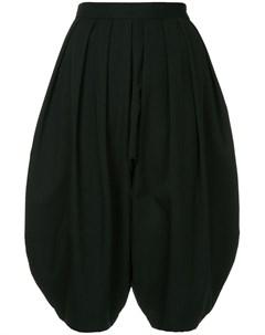 Comme des garcons vintage расклешенные плиссированные укороченные брюки Comme des garçons vintage