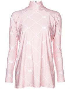 Barbara bologna блузка водолазка с принтом логотипов Barbara bologna