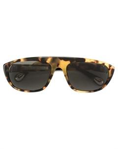 ann demeulemeester солнцезащитные очки в черепаховой оправе нейтральные цвета Ann demeulemeester