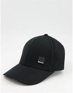 Черная кепка с небольшим логотипом Bench