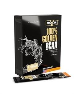 Аминокислоты 100 Golden BCAA натуральный вкус 15х7 г Maxler