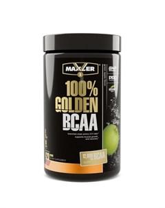 Аминокислоты 100 Golden BCAA зеленое яблоко 420 г Maxler
