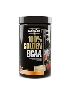 Аминокислоты 100 Golden BCAA клубника 420 г Maxler