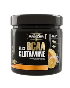 Комплекс аминокислот BCAA Glutamine апельсин 300 г Maxler