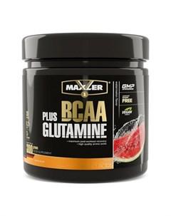 Комплекс аминокислот BCAA Glutamine арбуз 300 г Maxler