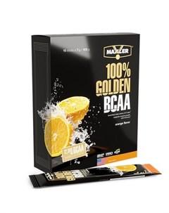 Аминокислоты 100 Golden BCAA апельсин 15х7 г Maxler