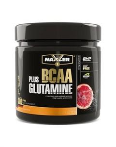 Комплекс аминокислот BCAA Glutamine грейпфрут 300 г Maxler